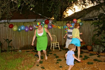 Backyard Dance Party