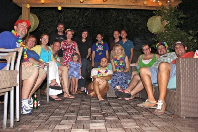 Rainbow Party Guests