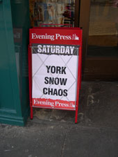 YORK SNOW CHAOS